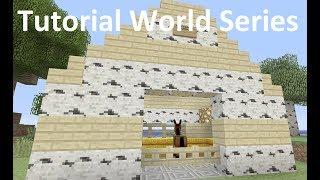Minecraft Xbox - Tutorial World - Road The Mule