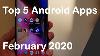 Top Android Apps February 2020