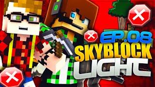 ESPLORAZIONE PROIBITA - Minecraft Skyblock Light con Surry e St3pny   E8