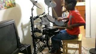 Andrew Wilson Drum Cover - Fire Burning - Sean Kingston