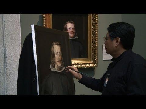 Artistas chinos en el Prado