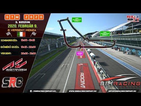 Sim Racing Company  DTM 2020 - 3 Szezon  2. VERSENY - Monza