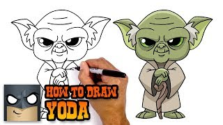 How to Draw Yoda | Star Wars