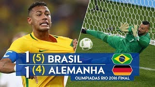 Бразилия Германия 1 1 5 4 Обзор Матча Финал Олимпийских Игр по Футболу 20 08 2016 HD