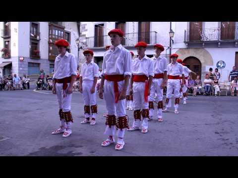 21432 Berastegiko Dantza Taldea, 2012ko Sanlontzo Festetan.