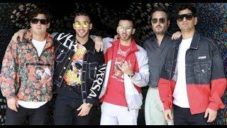 Reik y los Turizo filman videoclip de 'Aleluya'