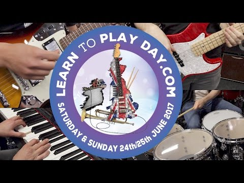 National Learn To Play Day 2017 - Free Music Lessons at all PMT Stores