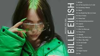 Billie Eilish grandes éxitos álbum completo ♫ Las mejores canciones de Billie Eilish