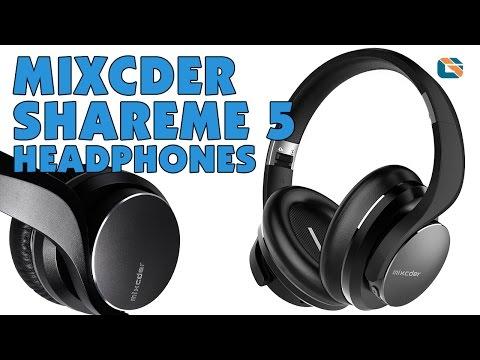 Mixcder ShareMe 5 Bluetooth Headphones Review - sponsored