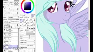 Speed Paint: Flitter from MLP:FiM
