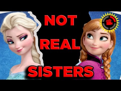 Does this fan theory prove that Frozen's Elsa and Anna aren't really sisters?