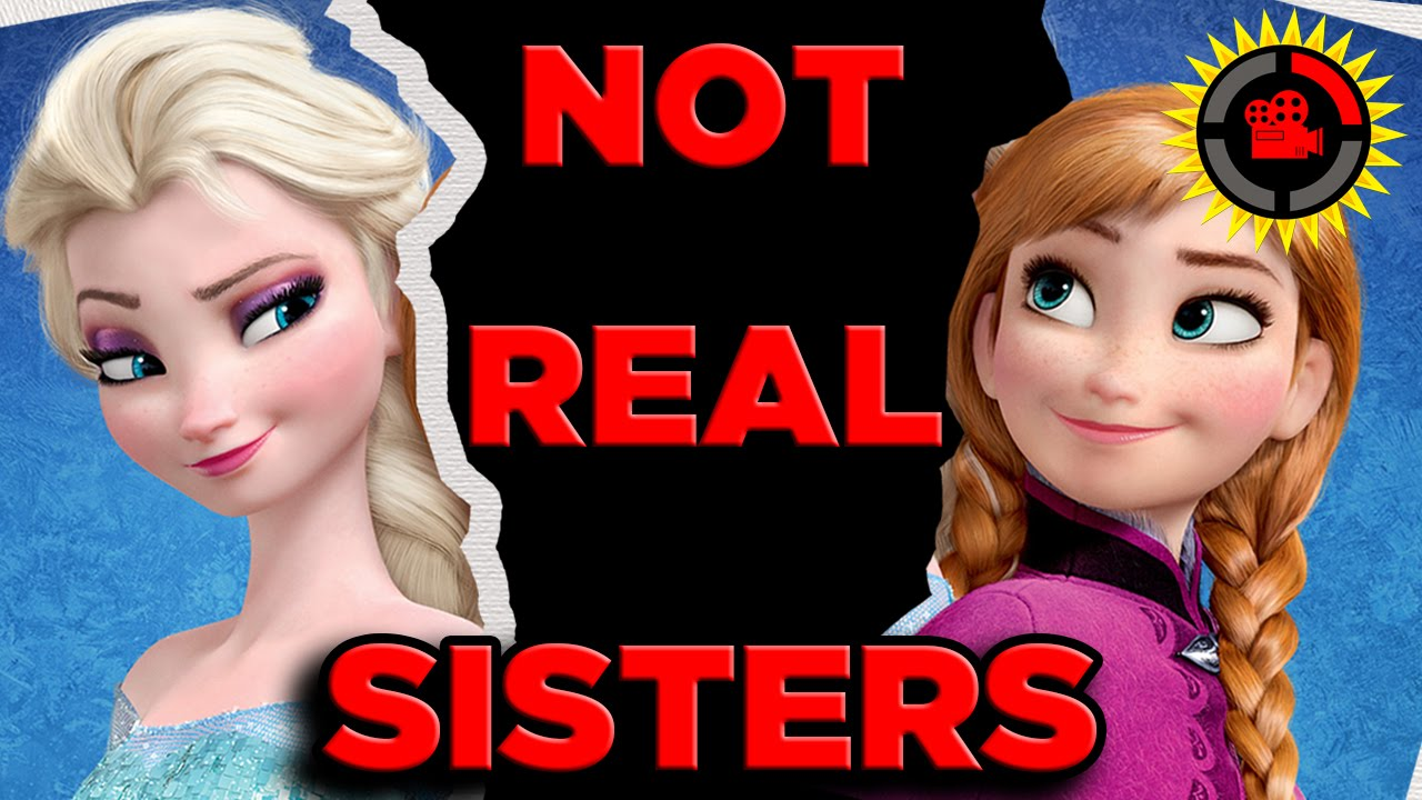 Film Theory Disney S Frozen Anna And Elsa Are Not Sisters Youtube