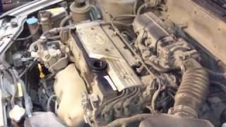 Замена масла в двигателе Hyundai Accent
