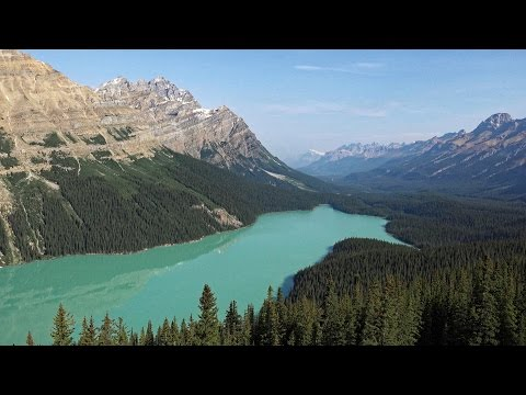 Canadian Rockies in 4K (Ultra HD)