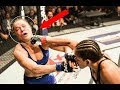 Fights in MMA   girls without control
