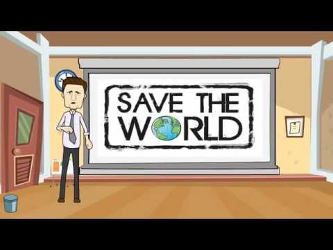 SAVE THE WORLD - An Environmental Ad (1-Minute) - Animated