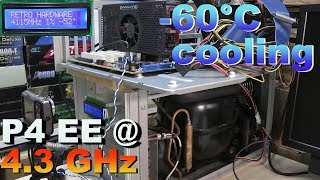Pentium 4 Extreme Edition 3.2 @ 4.3 GHz cooling by Prometeia MACH 2 GT - RETRO Hardware
