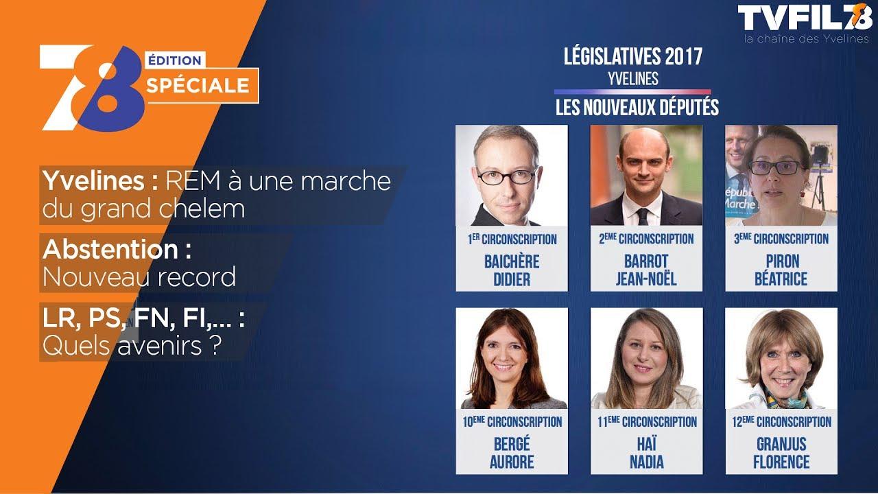 Edition spéciale – second tour des élections législatives dans les Yvelines