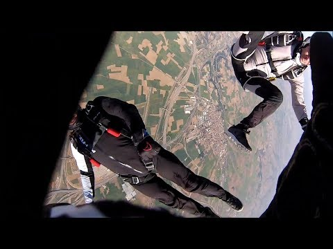 Friday Freakout: Skydiving Collision, Hit From Behind On Tracking Jump