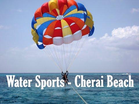 Watersports at cherai beach