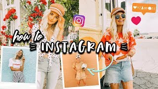 HOW TO INSTAGRAM!  How I Shoot, Edit + More! | Aspyn Ovard