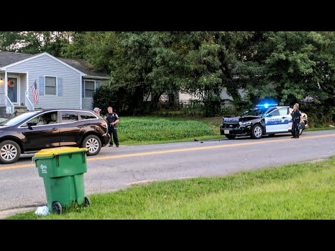 Police Cause Accident, Cop Has Bad Attitude And Excuse | OAP