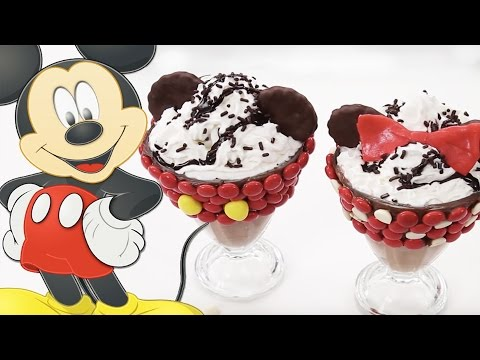 Mickey And Minnie Milkshakes   Dishes By Disney