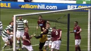 Celtic 1 Hearts FC 2   Scottish Cup Semi Final 2012-13