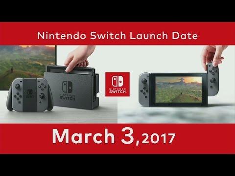 Nintendo Switch Release Date / Price Region / Locking Nintendo Switch Presentation 2017
