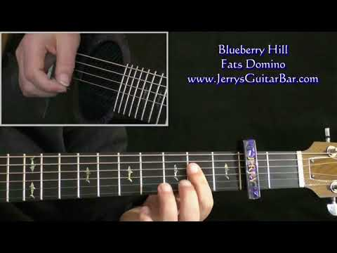 How To Play Blueberry Hill (intro only)