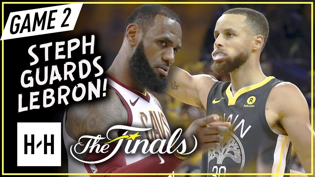e8423574055 LeBron James vs Stephen Curry INTENSE Game 2 Duel Highlights (2018 NBA  Finals) - One-on-One Plays!