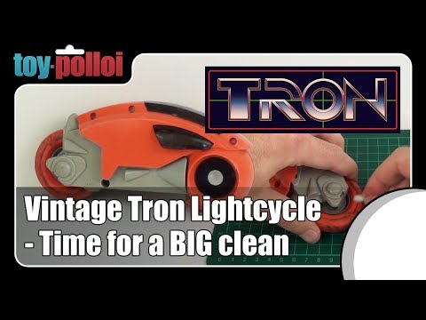 Fix it guide - Tron Lightcycle by Tomy