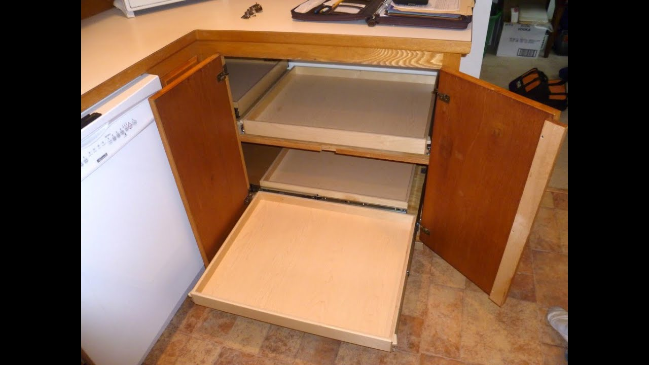 Blind Corner (Lazy Susan) Idea, and mm madness on blind corner installation, blind corner construction, blind corner cabinet ideas, blind corner upper cabinet,