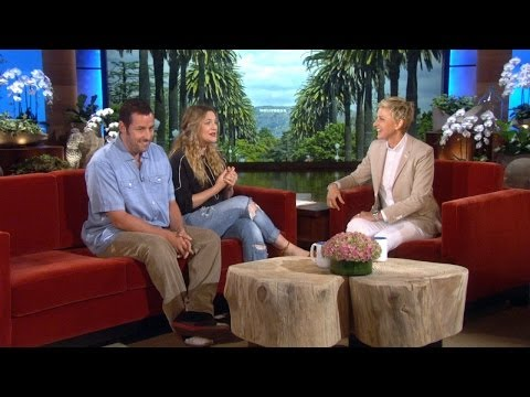 Adam Sandler and Drew Barrymore Talk Kids