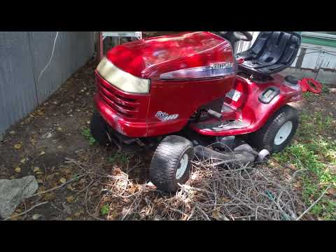 Craftsman mower for sale starts but won't stay on all the time