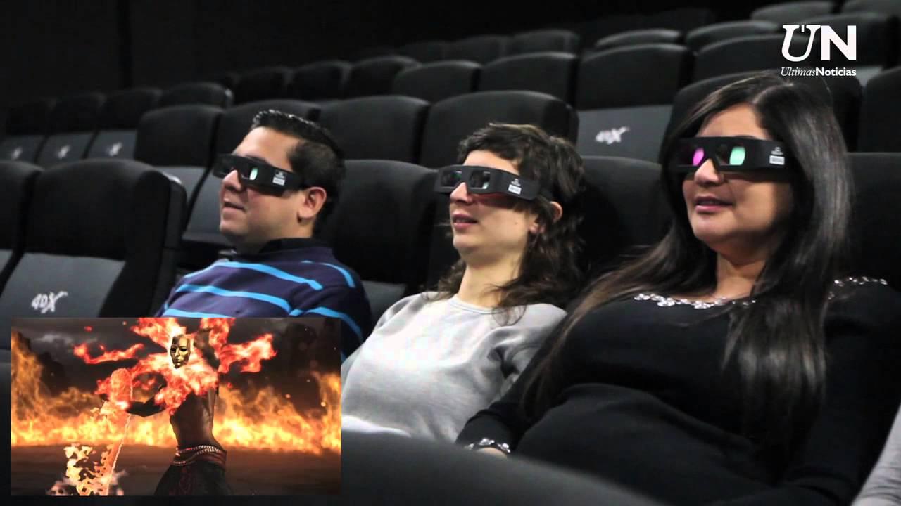 La experiencia 4dx llega a cinex youtube for Sala 4dx opiniones