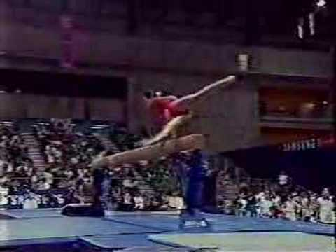 Meng Fei Beam 1998 Asian games event Final