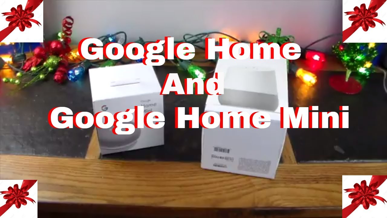Holiday Tech Gift Guide 3 Google Home Google Home Mini Smart Assistants