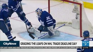 Grading The Leafs On NHL Trade Deadline Day