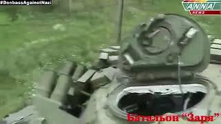 Последствия обстрела танка без динамической защиты