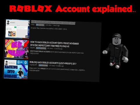 Roblox Account Explained