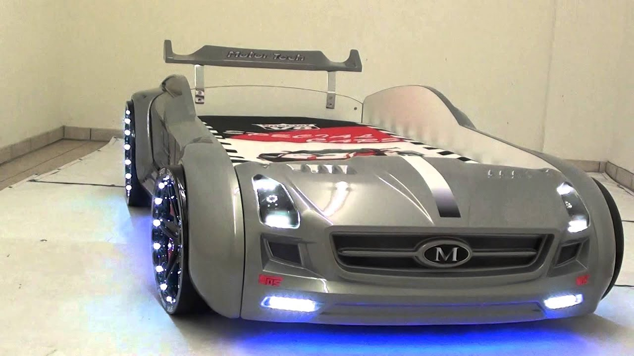 kinder autobett roadster silber youtube. Black Bedroom Furniture Sets. Home Design Ideas