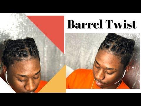 How To Barrel Twist On Dreadlocs