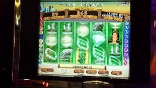 Jade Monkey Slot Machine Bonus Win (queenslots)