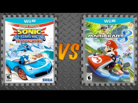 Sonic & All-Stars Racing Transformed vs. Mario Kart 8