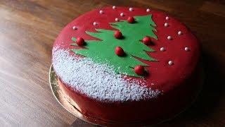 Gâteau moelleux chocolat praliné de noël