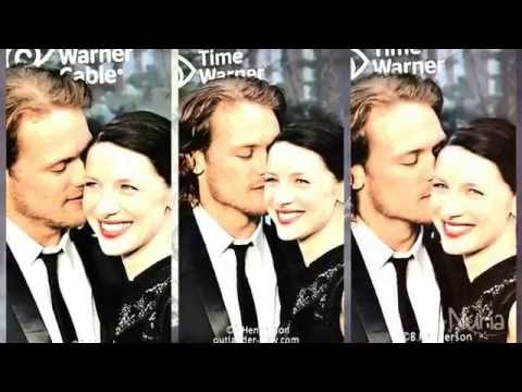 outlander jamie and claire dating in real life
