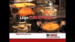 Big Boss Oil-less Fryer Direct Response Television