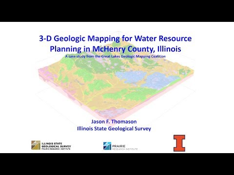 Geologic Mapping to Empower Communities: 3D Geologic Mapping for Water Planning in Illinois