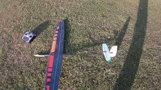 topsky2.0 CFK bei starkem Wind